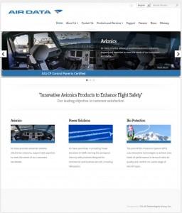 TTG Client Website - Air Data