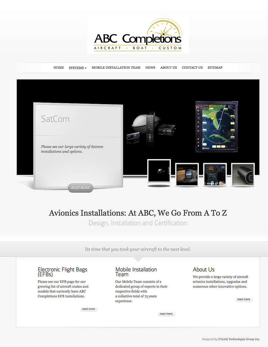 Optimized Website – ABC Completions