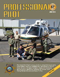 Professional Pilot Magazine, June 2013